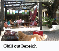 Lazy Dog bed&breakfast - Chill out bereich