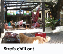Lazy Dog bed&breakfast - Strefa chill out