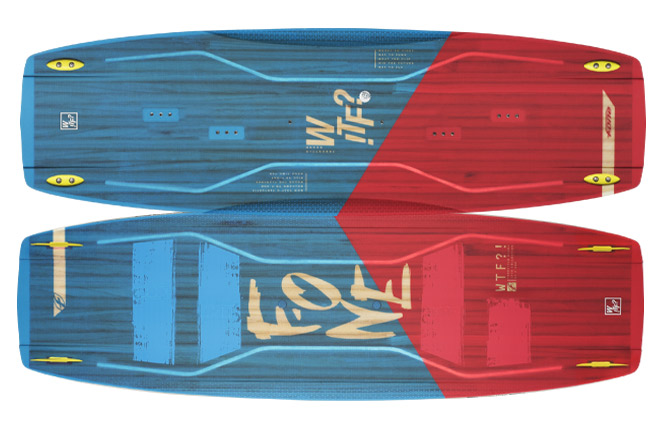 F-one WTF 1 - Kitesurfing board